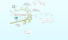 MLA Format the Basics