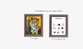 The Vanishing Princess or the origins of cubism