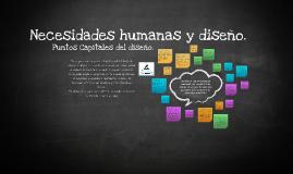 Necesidades humanas y diseño.