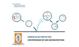 Gerencia Proyectos