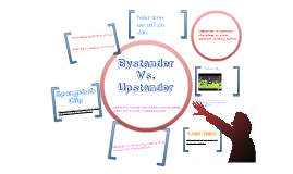 Copy of Bystander vs. upstander