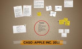 Copy of Copy of CASO :APPLE INC. EN 2010