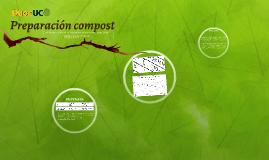 Preparación compost