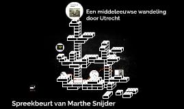 Ga je mee naar de middeleeuwen in Utrecht ?