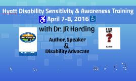Hyatt Disability Sensitivity Training April 2016