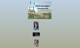 AVID Strategies: Storyboards