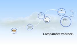 4- 11 Comparatief voordeel