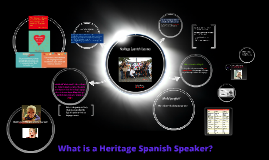What is a Heritage Spanish Learner?