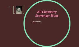 AP Chemistry Scavenger Hunt