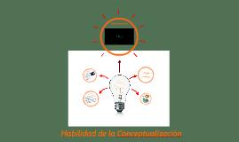 Habilidad Conceptual