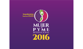 Mujer PyME 2016