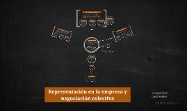 Copy of Representación en la empresa y negociación colectiva