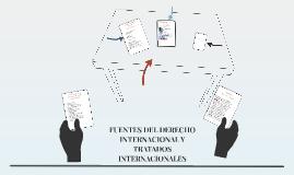 FUENTES DEL DERECHO INTERNACIONAL Y TRATADOS INTERNACIONALES