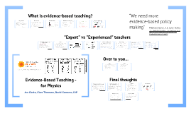 Copy of Evidence-Based Teaching - for physics