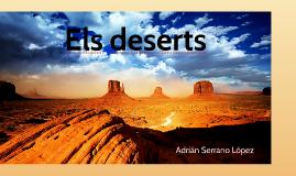 Els deserts