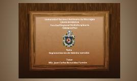 Copy of Implementación de un sistema contable JUDC