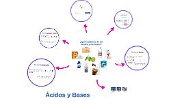 ¿Qué sabemos de los ácidos y las bases?