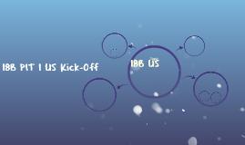 18B PIT 1 US Kick-Off