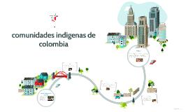 grupos indigenas de colombia