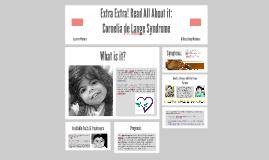 Copy of Read All About it: Cornelia de Lange Syndrome