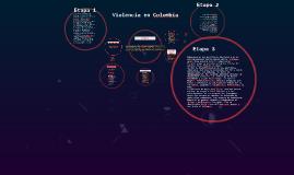 Copy of Violencia en Colombia
