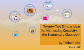 Twenty-Two Simple Ideas for Harnessing Creativity in the Ele