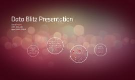 Data Blitz Presentation