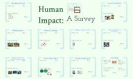 Copy of Copy of AP Bio: Ecology 6- Human Impact:  A Collaborative Student Project