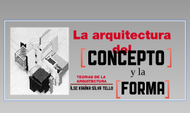 Teorias de la Arquitectura