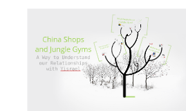 China Shops and Jungle Gyms