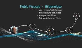 Pablo Picasso  -  Bildanalyse