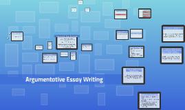Copy of Argumentative Essay Terminology