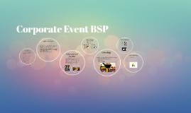 Corporate Event BSP