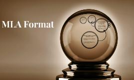 MLA Format 8th ed