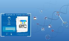 ETC - EDITOR DE TEXTO COLETIVO