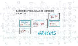 BANCO DE PREGUNTAS DE ESTUDIOS SOCIALES
