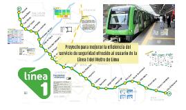 Proyecto para mejorar la eficiencia del servicio de seguridad ofrecido al usuario de la Línea 1 del Metro de Lima
