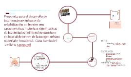Propuesta para el desarrollo de intervenciones urbanas de re