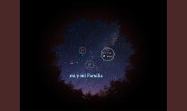 Mi y mi Familia
