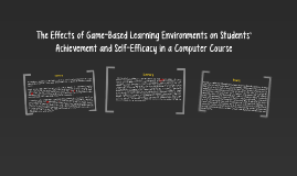 The Effects of Game-Based Learning Environments on Students'