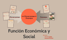 Microempresas en Moquegua
