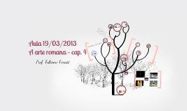 Arte romana - aula 19/03/2013 - 1º ano do ensino médio