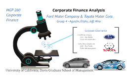 Corporate Finance Analysis