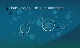 Copy of Doris Lessing - Die gute Terroristin