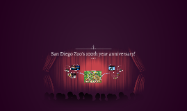 San Diego Zoo's 100th year anniversary!