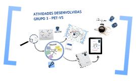 Atividades do PET-Vigilância