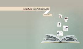 Sthepen King Biography