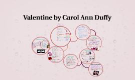 Copy of Valentine by Carol Ann Duffy