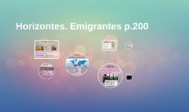 Horizontes. Emigrantes p.200