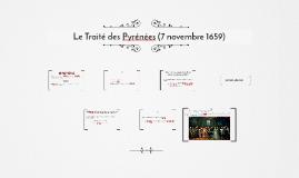 Le Traité des Pyrénées (7 novembre 1659)
